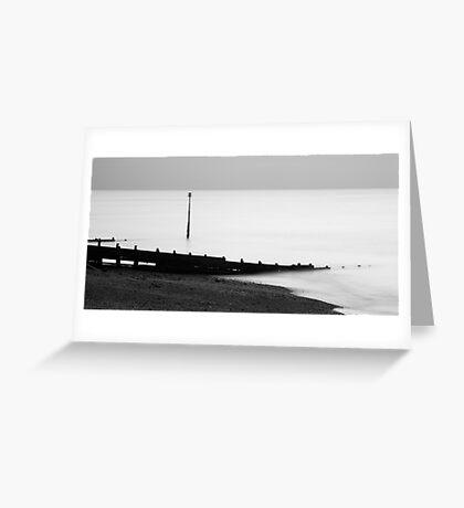 Kingsdown beach Greeting Card