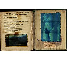 Altered II, Carrie Brown Autopsy Findings (complete) Photographic Print