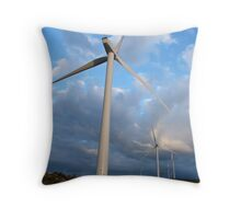 Fairburn windfarm Throw Pillow