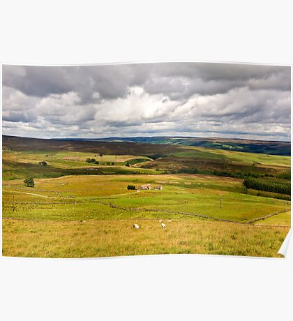 The top of Greenhow Hill Poster