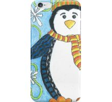 Pebble the Waddling Penquin iPhone Case/Skin