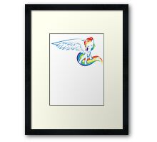 My Little Pony: Rainbow Dash Framed Print