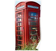 The Red Telephone Box Poster