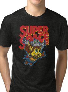 Super Space Bros Tri-blend T-Shirt