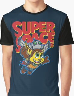 Super Space Bros Graphic T-Shirt