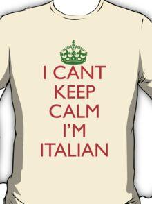 Italian Keep Calm T-Shirt