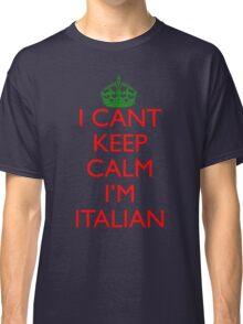 Italian Keep Calm Classic T-Shirt