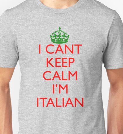 Italian Keep Calm Unisex T-Shirt