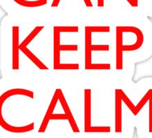 Italian Keep Calm Sticker