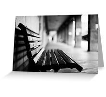 bench for you Greeting Card