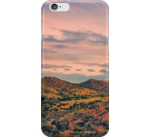 red hills iPhone Case/Skin