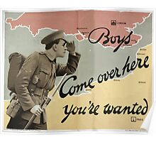 Boys come over here youre wanted 614 Poster
