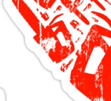 I Love Zombies (Version 01) Sticker