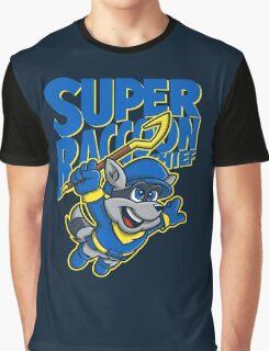 Super Raccoon Thief Graphic T-Shirt