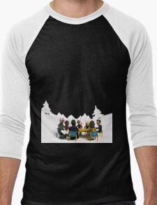 The Study Group's Winter Wonderland Men's Baseball ¾ T-Shirt