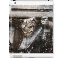 the fountain bearer iPad Case/Skin