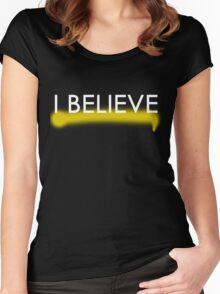 I Believe in Sherlock Holmes V2 Women's Fitted Scoop T-Shirt