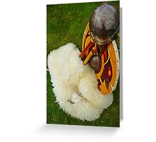 Viking Armour Greeting Card