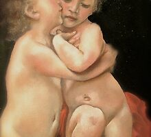"Bouguereau's ""Primo Bacio"" (part)  by Heidi Erisman"