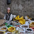 Street Market by Peter Hammer