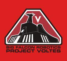 Project Voltes Dev Team Tee (Black Text) Kids Clothes
