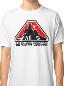 Project Voltes Dev Team Tee (Black Text) Classic T-Shirt