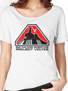 Project Voltes Dev Team Tee (Black Text) Women's Relaxed Fit T-Shirt