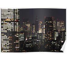 TOKYO, JAPAN - Cityscape Poster