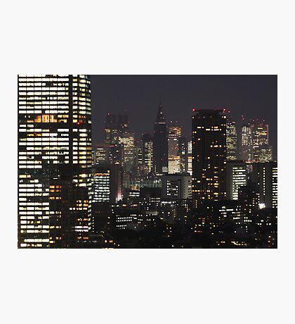 TOKYO, JAPAN - Cityscape Photographic Print
