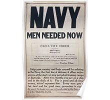Navy men needed now 1 Poster