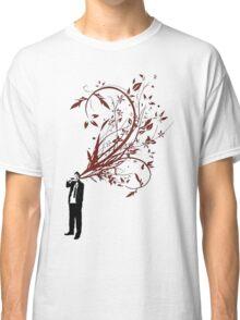 Suit and Bandanna V Head Shot Vines Classic T-Shirt