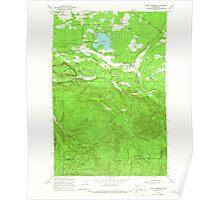 USGS Topo Map Washington State WA Lake Lawrence 241879 1959 24000 Poster