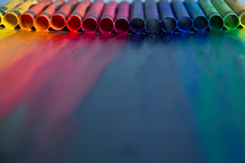Crayons: Just Melted by shawntking