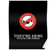 Cute Ghostbusters Poster