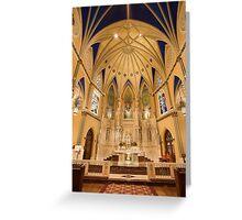 St. Alphonsus Altar Greeting Card