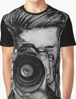Wide Angle Lens Graphic T-Shirt