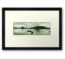 Gosford Pier, New South Wales, Australia Framed Print