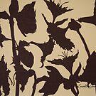 Iris Silhouette by Lorelle Gromus