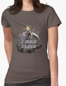 I MAIN CLOUD Womens Fitted T-Shirt