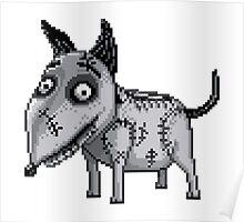 Sparky - pixel art Poster