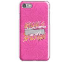 """Space-Bar"" (Iphone Pink Case) iPhone Case/Skin"