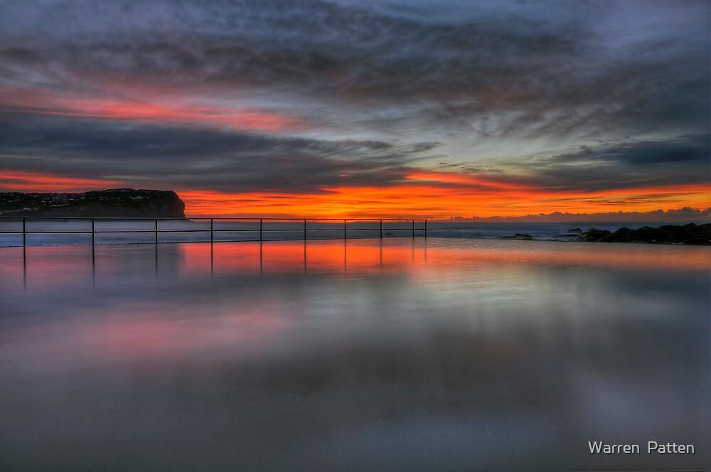 Reflections of a Sunrise. by Warren  Patten