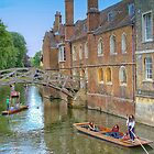 Punting on The River Cam by Pauline Tims