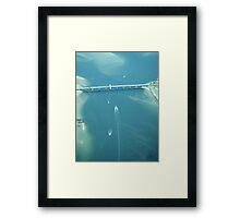 River boat Framed Print