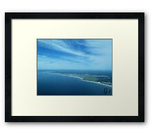 Coast line Framed Print