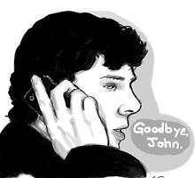 Sherlock's Goodbye  by AlexArtShop