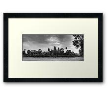 Sunrise over Angkor Wat Framed Print