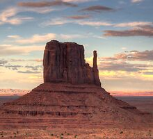 Monument Valley - West Mitten Butte by Saija  Lehtonen