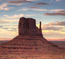 Monument Valley - West Mitten Butte by Saija  Lehtonen