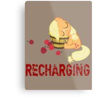 Recharging Metal Print